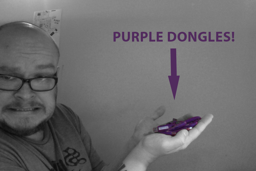 Purple Dongles